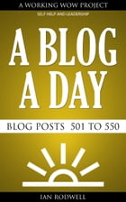 A Blog a Day by Ian Rodwell