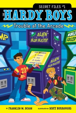 Book Trouble at the Arcade by Franklin W. Dixon