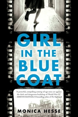 Book Girl in the Blue Coat by Monica Hesse