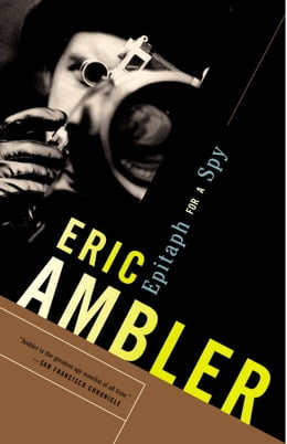 Book Epitaph for a Spy by Eric Ambler