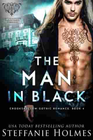 The Man in Black: A ghostly paranormal romance by Steffanie Holmes