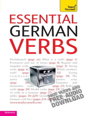 Essential German Verbs: Teach Yourself