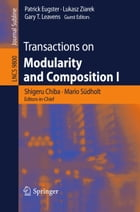 Transactions on Modularity and Composition I by Shigeru Chiba