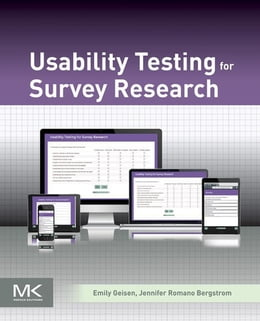 Book Usability Testing for Survey Research by Emily Geisen