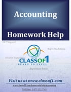 Computation of Various Components of Financial Statements by Homework Help Classof1