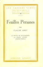 Feuilles persanes by Claude Anet