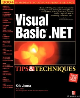 Book Visual Basic .NET Tips & Techniques by Jamsa, Kris