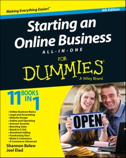 Book Starting an Online Business All-in-One For Dummies by Shannon Belew
