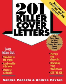 Book 201 Killer Cover Letters (CD-ROM edition) by Podesta, Sandra