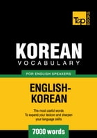 Korean vocabulary for English speakers - 7000 words by Andrey Taranov