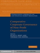 Comparative Corporate Governance of Non-Profit Organizations