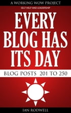 Every Blog Has Its Day by Ian Rodwell