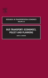 Bus Transport: Economics, Policy and Planning