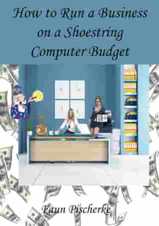 How to Run a Business on a Shoestring Computer Budget A Dummies Book of Tips and Tidbits by Faun Pischerke