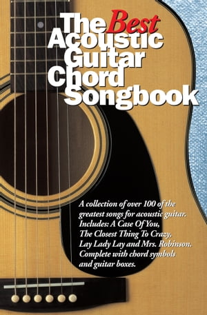 Best Acoustic Guitar Chord Songbook [Lyrics and Chords]