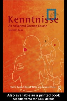 Book Kenntnisse by Burke, Claire