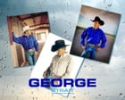 The True Story of George Strait by j.w. carter