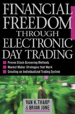 Book Financial Freedom Through Electronic Day Trading by Tharp, Van