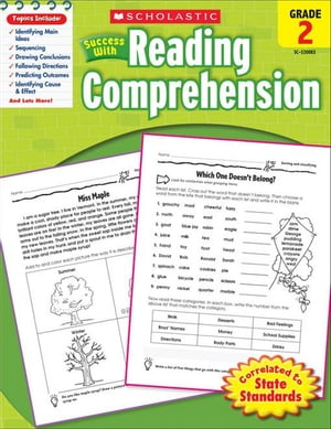 Scholastic Success with Reading Comprehension (Grade 2)