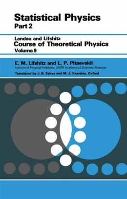 Book Statistical Physics: Theory of the Condensed State by Lifshitz, E. M.