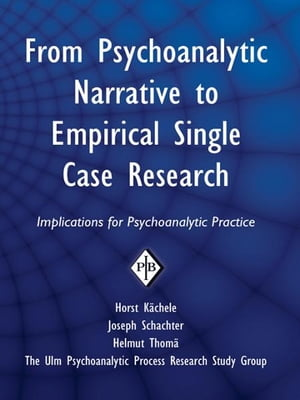 From Psychoanalytic Narrative to Empirical Single Case Research Implications for Psychoanalytic Practice