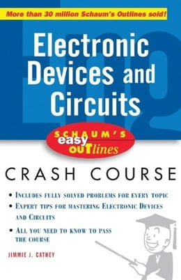 Book Schaum's Easy Outline of Electronic Devices and Circuits by Cathey, Jimmie