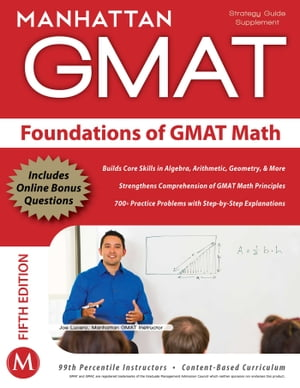 Foundations of GMAT Math by Manhattan GMAT