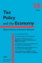 Tax Policy and the Economy, Volume 28 by Jeffrey R. Brown