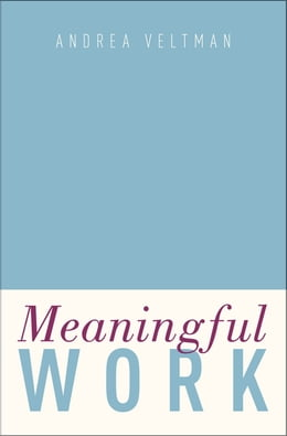 Book Meaningful Work by Andrea Veltman