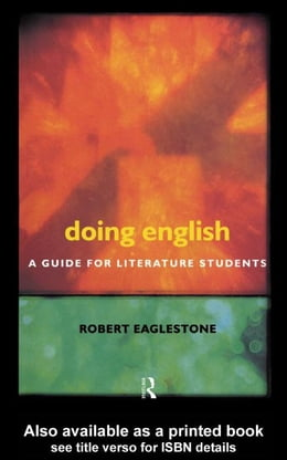 Book Doing English by Eaglestone, Robert