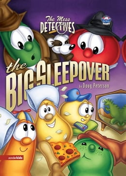 Book The Mess Detectives: The Big Sleepover by Doug Peterson