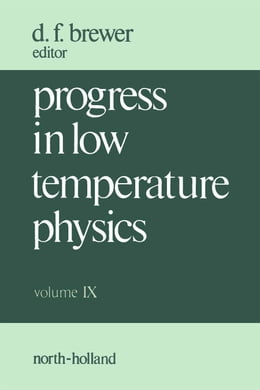 Book Progress in Low Temperature Physics by Brewer, D.F.