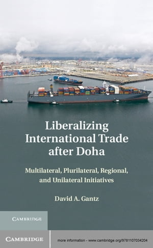 Liberalizing International Trade after Doha Multilateral,  Plurilateral,  Regional,  and Unilateral Initiatives