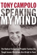 book cover showing picture of Tony Campolo