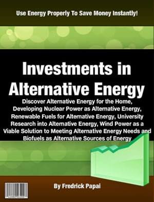 Investments in Alternative Energy