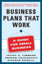 Business Plans that Work by Andrew Zacharakis