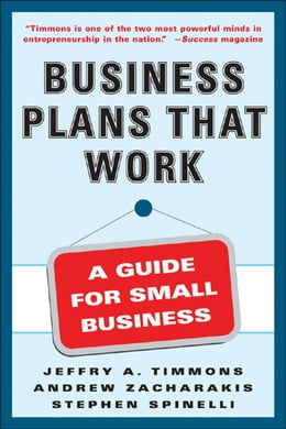 Book Business Plans that Work by Stephen Spinelli