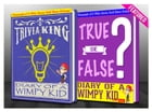 Diary of a Wimpy Kid - True or False? & Trivia King!: Fun Facts and Trivia Tidbits Quiz Game Books by G Whiz