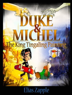 The King Tingaling Painting by Elias Zapple
