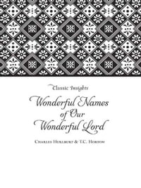 The Wonderful Names of Our Wonderful Lord