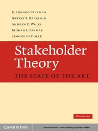 Stakeholder Theory: The State of the Art