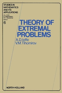 Book Theory of extremal problems by Ioffe, A.D.