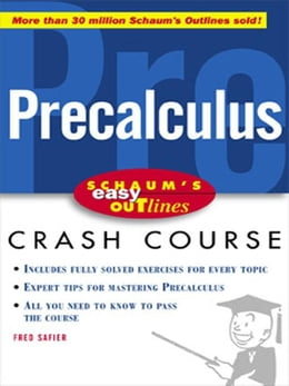 Book Schaum's Easy Outline of Precalculus by Safier, Fred