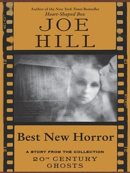 Book Best New Horror by Joe Hill