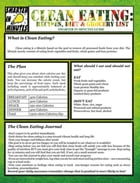 Clean Eating: Recipes, Diet & Grocery List by Anne. V. Parsons