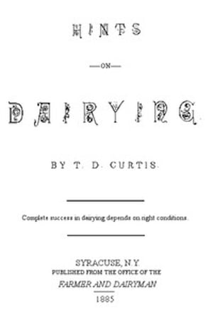 Hints on Dairying (Illustrated)