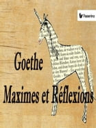 Maximes et Réflexions by Wolfgang Goethe
