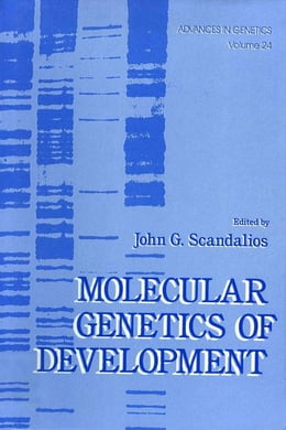 Book Advances in Genetics by Scandalios, John G.