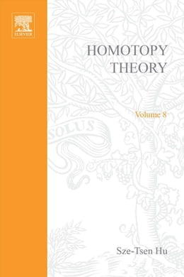Book Homotopy theory by HU, Sze-tsen