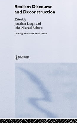 Book Realism Discourse and Deconstruction by Joseph, Jonathan